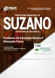 Apostila Prefeitura de Suzano - SP - Professor de Educação Básica II (Educação Física)