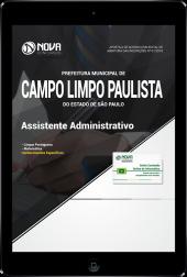 Download Apostila Prefeitura de Campo Limpo Paulista - SP - Assistente Administrativo (PDF)