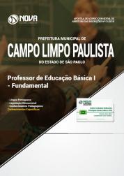 Apostila Prefeitura de Campo Limpo Paulista - SP - Professor de Educação Básica I - Fundamental