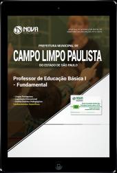 Download Apostila Prefeitura de Campo Limpo Paulista - SP - Professor de Educação Básica I - Fundamental (PDF)
