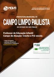 Apostila Prefeitura de Campo Limpo Paulista - SP - Professor de Educação Infantil (Creche e Pré-Escola)
