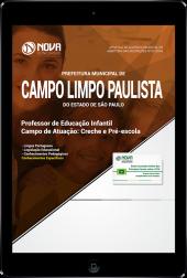 Download Apostila Prefeitura de Campo Limpo Paulista - SP - Professor de Educação Infantil (Creche e Pré-Escola) (PDF)