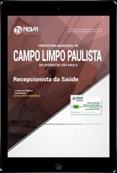 Download Apostila Prefeitura de Campo Limpo Paulista - SP - Recepcionista da Saúde (PDF)