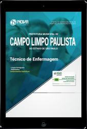 Download Apostila Prefeitura de Campo Limpo Paulista - SP - Técnico de Enfermagem (PDF)
