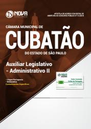 Apostila Câmara de Cubatão - SP - Auxiliar Legislativo - Administrativo II
