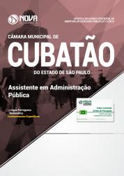 Apostila Câmara de Cubatão - SP - Assistente em Administração Pública