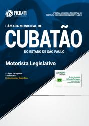 Apostila Câmara de Cubatão - SP - Motorista Legislativo