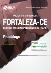 Apostila Prefeitura de Fortaleza - CE (RAPS) - Psicólogo
