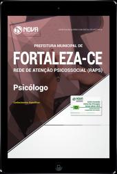 Download Apostila Prefeitura de Fortaleza - CE (RAPS) - Psicólogo (PDF)