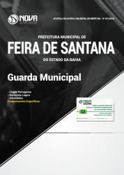 Apostila Prefeitura de Feira de Santana - BA - Guarda Municipal