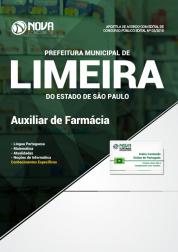 Apostila Prefeitura de Limeira - SP - Auxiliar de Farmácia