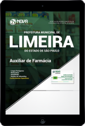 Download Apostila Prefeitura de Limeira - SP - Auxiliar de Farmácia (PDF)