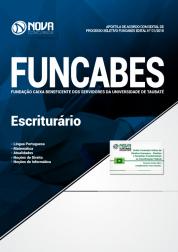 Apostila FUNCABES-SP - Escriturário