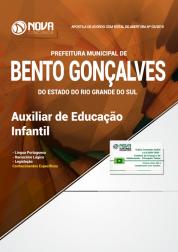 Apostila Prefeitura de Bento Gonçalves - RS - Auxiliar de Educação Infantil