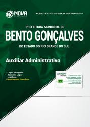 Apostila Prefeitura de Bento Gonçalves - RS - Auxiliar Administrativo