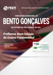 Apostila Prefeitura de Bento Gonçalves - RS - Professor Anos Iniciais do Ensino Fundamental