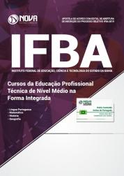 Apostila IFBA - Cursos da Educação Profissional Técnica de Nível Médio na Forma Integrada