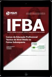 Download Apostila IFBA - Cursos da Educação Profissional Técnica de Nível Médio na Forma Subsequente (PDF)