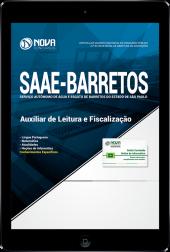 Download Apostila SAAE de Barretos - SP - Auxiliar de Leitura e Fiscalização (PDF)