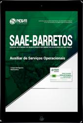 Download Apostila SAAE de Barretos - SP - Auxiliar de Serviços Operacionais (PDF)