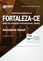 Apostila Prefeitura de Fortaleza - CE (RAPS) - Assistente Social