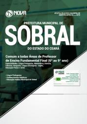 Apostila Prefeitura de Sobral - CE - Comum as Todas Áreas de Professor de Ensino Fundamental Final