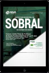 Download Apostila Prefeitura de Sobral - CE - Comum as Todas Áreas de Professor de Ensino Fundamental Final (PDF)