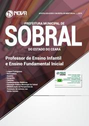 Apostila Prefeitura de Sobral - CE - Professor de Ensino Infantil e Ensino Fundamental Inicial