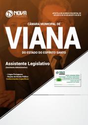 Apostila Câmara de Viana - ES - Assistente Legislativo (Assistente Administrativo)