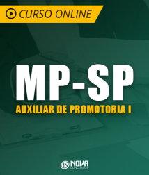 Curso MP-SP - Auxiliar de Promotoria I