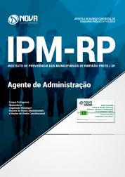 Apostila IPM de Ribeirão Preto -SP - Agente de Administração