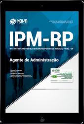 Download Apostila IPM de Ribeirão Preto - SP - Agente de Administração (PDF)