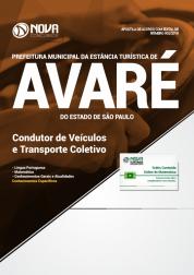 Apostila Prefeitura de Avaré - SP - Condutor de Veículos e Transporte Coletivo