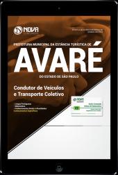 Download Apostila Prefeitura de Avaré - SP - Condutor de Veículos e Transporte Coletivo (PDF)