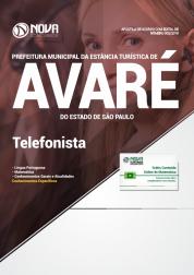 Apostila Prefeitura de Avaré - SP - Telefonista