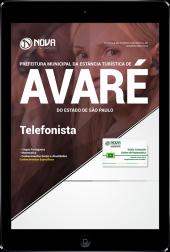 Download Apostila Prefeitura de Avaré - SP - Telefonista (PDF)