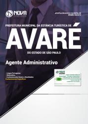 Apostila Prefeitura de Avaré - SP - Agente Administrativo