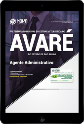 Download Apostila Prefeitura de Avaré - SP - Agente Administrativo (PDF)
