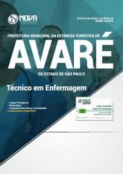 Apostila Prefeitura de Avaré - SP - Técnico em Enfermagem