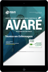 Download Apostila Prefeitura de Avaré - SP - Técnico em Enfermagem (PDF)
