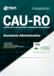 Apostila CAU-RO - Assistente Administrativo