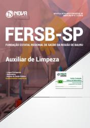 Apostila FERSB-SP - Auxiliar de Limpeza