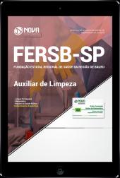 Download Apostila FERSB-SP - Auxiliar de Limpeza (PDF)