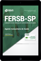 Download Apostila FERSB-SP - Agente Comunitário de Saúde (PDF)