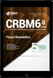 Download Apostila CRBM-PR (6ª Região) - Fiscal Biomédico (PDF)