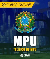 Curso Online MPU - Técnico - Área De Atividade: Apoio Técnico-Administrativo - Especialidade: Administração