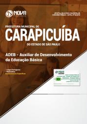 Apostila Prefeitura de Carapicuíba - SP - Auxiliar de Desenvolvimento da Educação Básica (ADEB)
