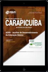 Download Apostila Prefeitura de Carapicuíba - SP - Auxiliar de Desenvolvimento da Educação Básica (ADEB) (PDF)