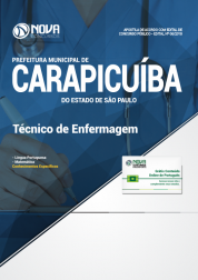 Apostila Prefeitura de Carapicuíba - SP - Técnico de Enfermagem