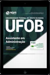 Download Apostila UFOB-BA - Assistente em Administração (PDF)